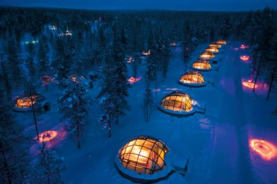 Glass-igloo