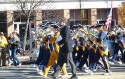 レキシントン高校のマーチングバンド(吹奏楽団のメンバー)